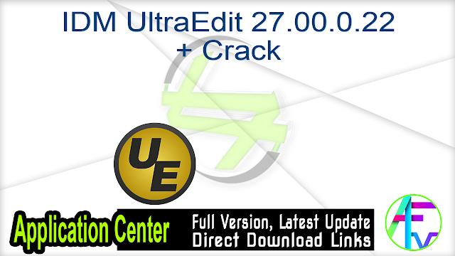 IDM UltraCompare Professional 18.00.0.62 (x86+x64) + Keygen
