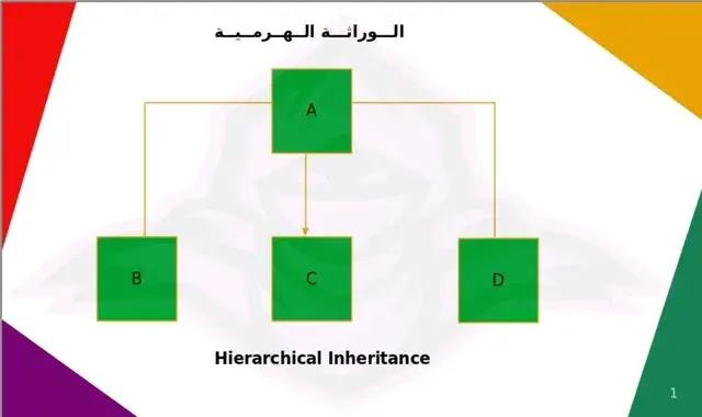 Hierarchical inheritance python