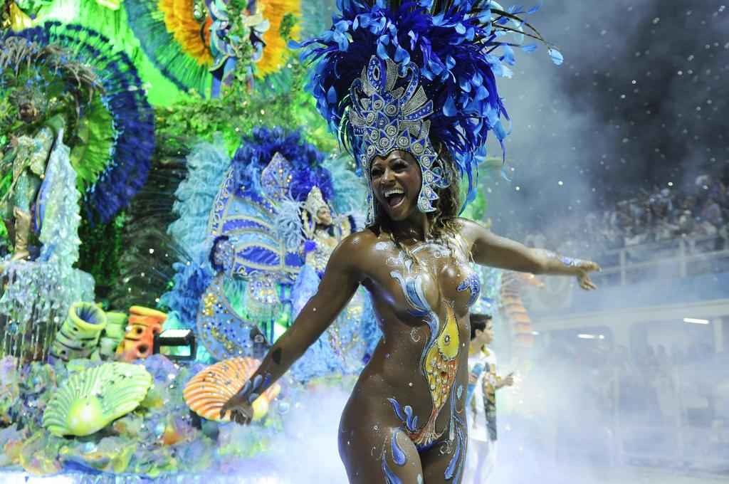 Brazilian Nude Samba Model