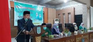 H Al Haris: Mari Perkokoh Ukhuwah Islamiyah· Bupati Buka Konfrensi Cabang ke-1 Fattayat NU Merangin.