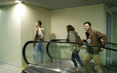 Escalator catastrophique, pan dans ta face !