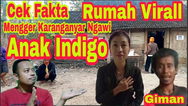 Anak Indigo Cek Fakta Rumah Viral Milik Giman Desa Mengger Kecamatan Karanganyar Kabupaten Ngawi yang Pindah Misterius