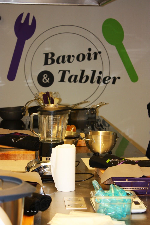 Bavoir et tablier Battle culinaireavec les pruneaux d'Agen