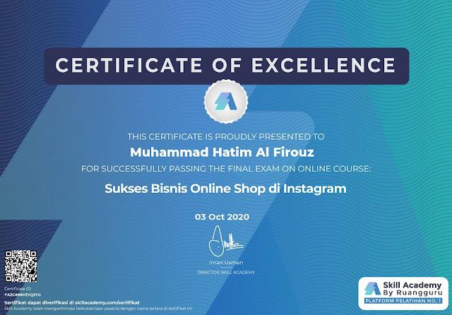 sertifikat prakerja