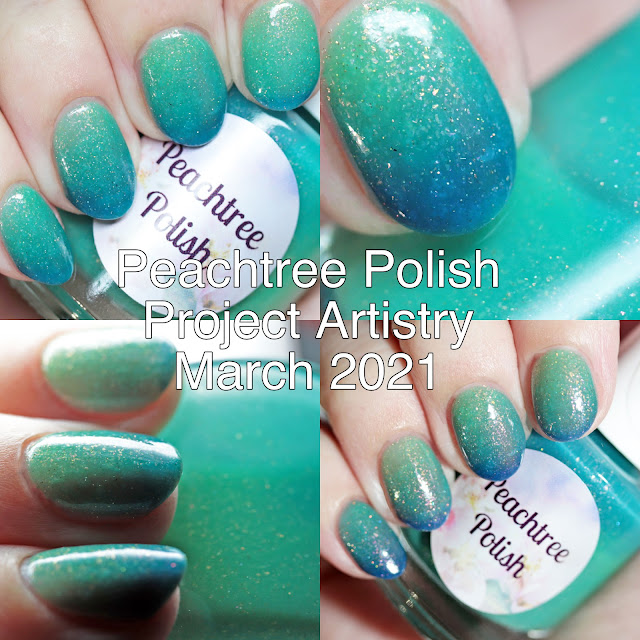 Peachtree Polish Project Artistry March 2021