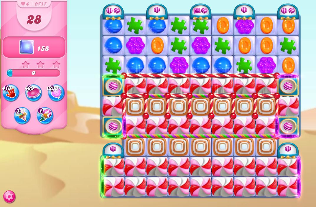 Candy Crush Saga level 9717