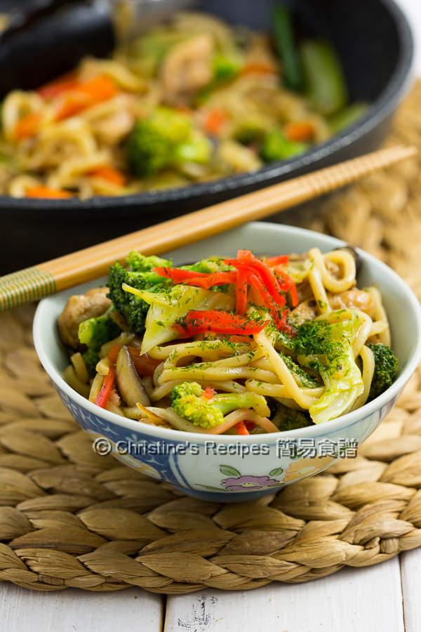 Yakisoba (Japanese Stir Fry Noodles)03