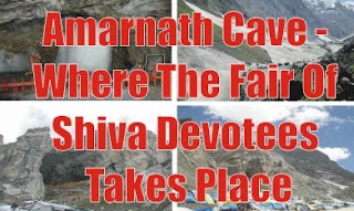 Amarnath Cave - Where The Fair Of Shiva Devotees Takes Place