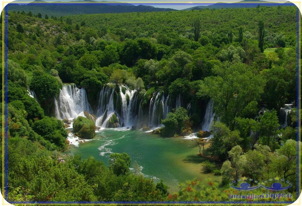 Piękno planety Ziemi - Raj na Ziemi - Dżungla Wodospad