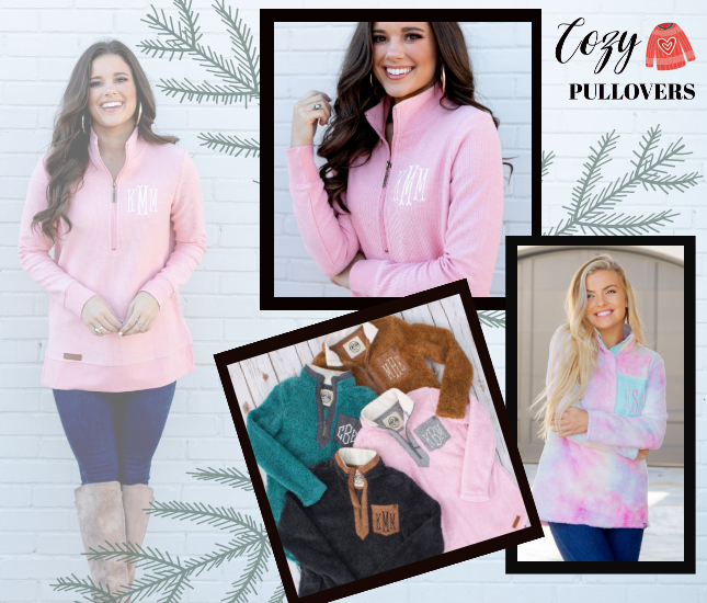 Cozy Pullovers from Marleylilly.com