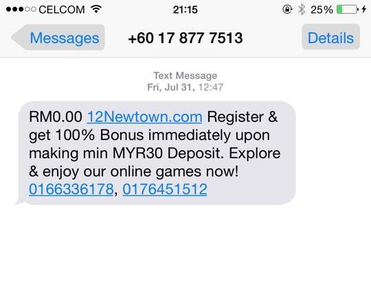 Maraknya SMS Penawaran Untuk Bermain Judi ONLINE, Bikin GERAM DAN EMOSI