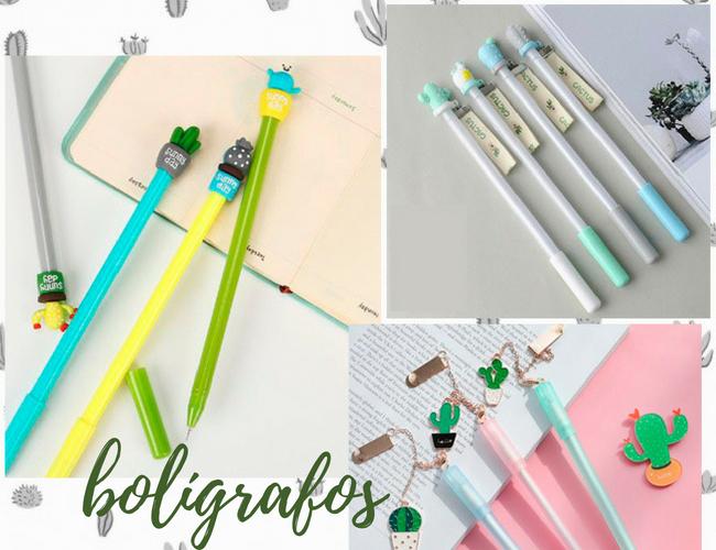 Bolígrafos de Cactus en Aliexpress