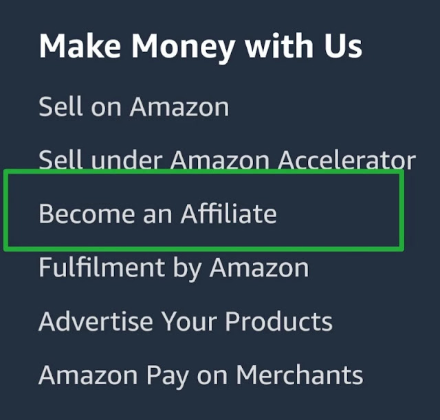 amazon par affiliate account kaise banaye, amazon affiliate marketing account create hindi