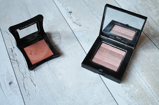 Underrated Highlighters - Bobbi Brown Shimmer Brick and Illamasqua Gleam