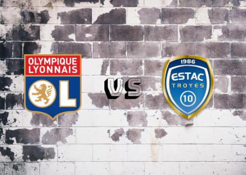 Olympique Lyon vs Troyes  Resumen