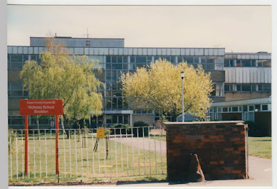 Nicolas School, Basildon, picture couresty of Depeche Mode Classic Photos & Videos Facebook Group