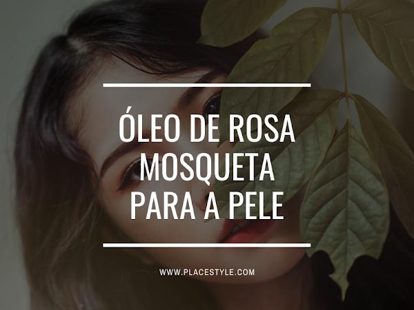 Óleo de Rosa Mosqueta para a pele