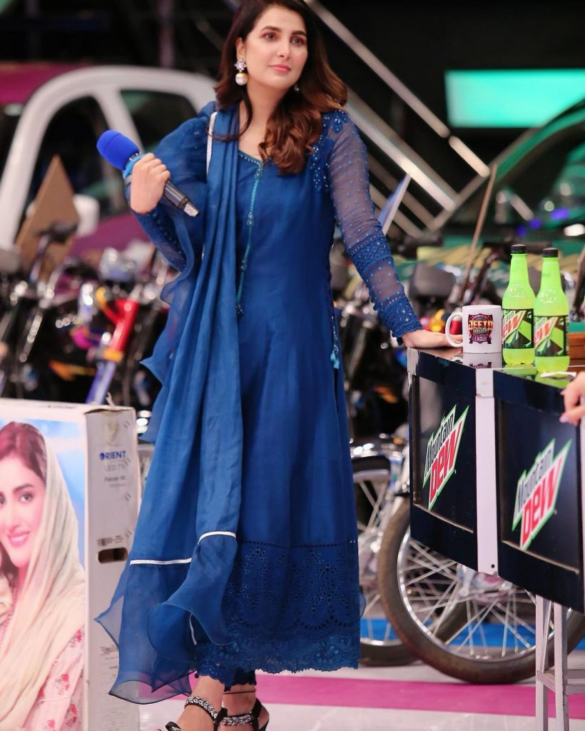 Actress Areeba Habib Charming Pictures from Jeeto Pakistan