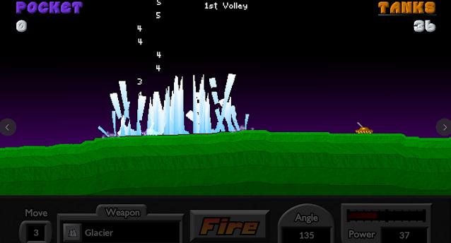 تنزيل لعبة Pocket Tanks للكمبيوتر برابط مباشر