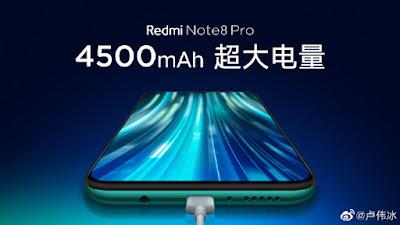 Redmi Note 8 pro Battery