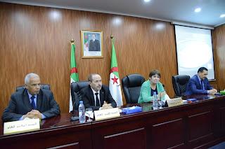 خلال إشراف السيدة الوزيرة على اللقاء الذي جمعها بمديري التربية بمقر وزارة التربية الوطنية بالمرادية- الجزائر