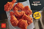 Promo McDonalds Paket 7 PCS Ayam Rp 69.545 Periode 06 - 12 April 2020