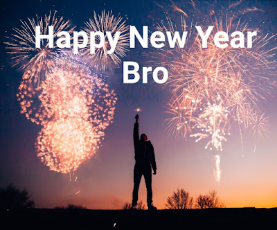 New year greetings 2020 for brother
