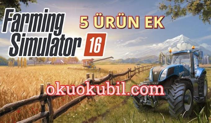 Farming Simulator 16 1.1.2.6 5 Farklı Ürün Apk + Mod İndir 2020