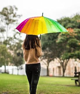 gambar Musim hujan berikut cara menjaga tubuh agar tidak gampang sakit