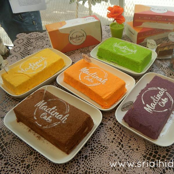 Madinah Cake, Perpaduan Cheese dan Cake Crumb yang Cantik dari Angel Lelga