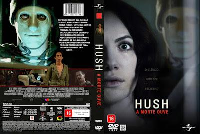 Filme Hush - A Morte Ouve DVD Capa