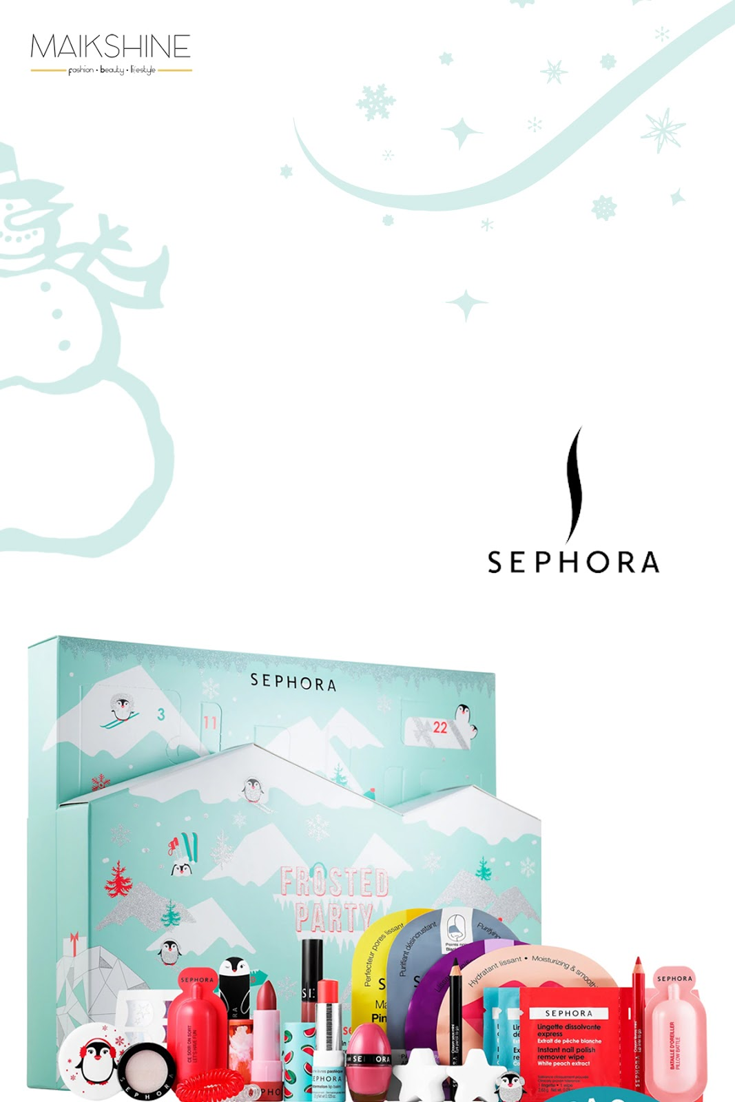 Calendario Adviento Sephora