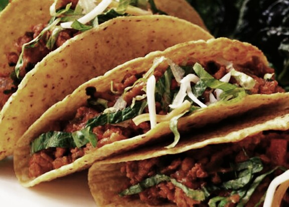 Receta Mexicana Tacos de Pollo