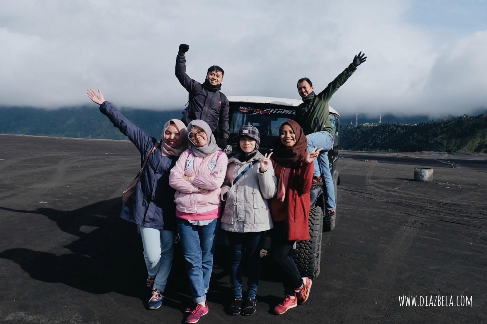 Pengalaman Open Trip ke Bromo - Melafalkan Intuisi