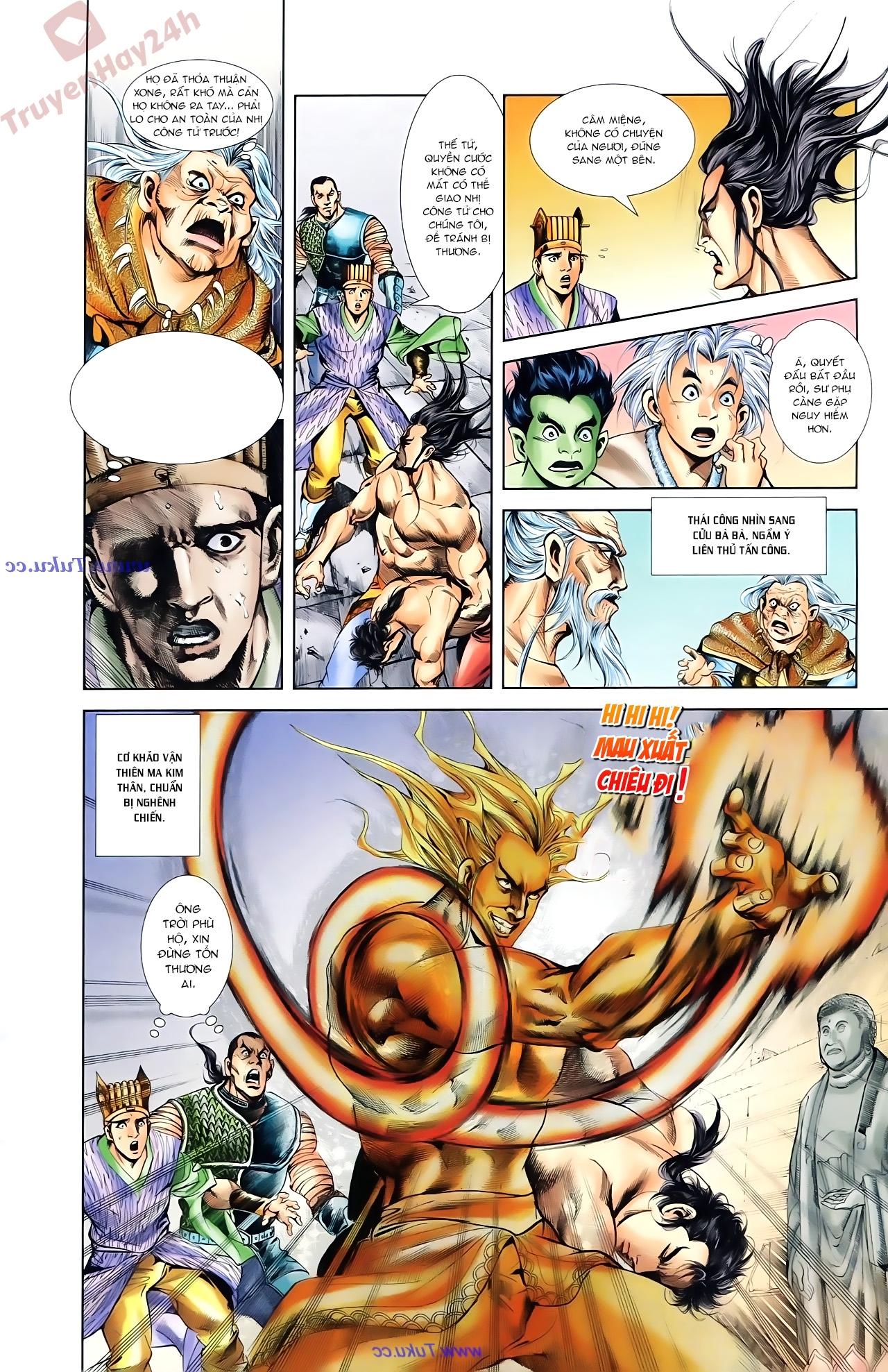 Cơ Phát Khai Chu Bản chapter 84 trang 18
