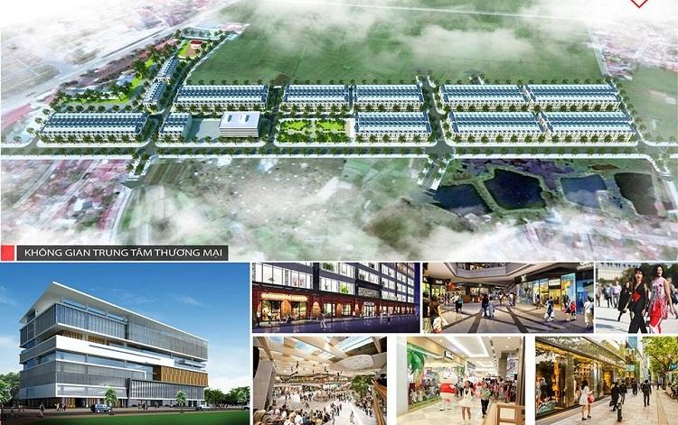 Không gian dự án Khu Đô Thị Dĩnh Trì, TP Bắc Giang