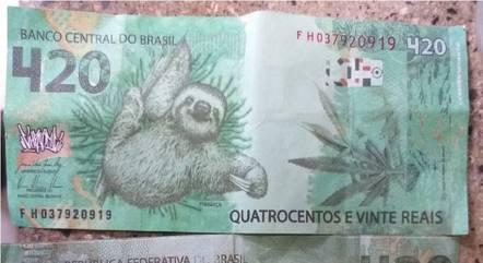 Idoso recebe nota de R$ 420 e dá troco de R$ 320; suspeito foi preso