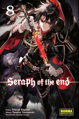 """Reseña de """"Seraph of the End"""" (Owari no Seraph 終わりのセラフ) vols. 8 y 9 - Norma Editorial"""