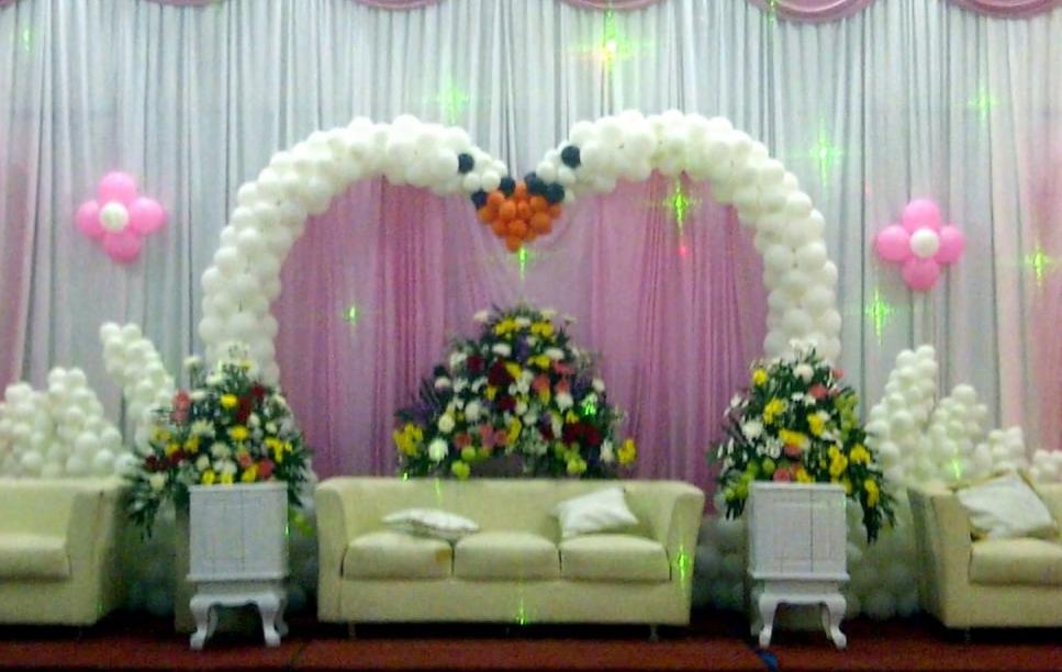 Dekorasi Pernikahan Sederhana Di Rumah Desain Rumah