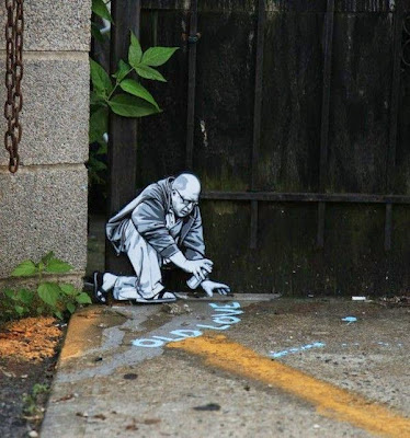 arte con creatividad plasmada en las calles