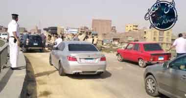 طريق قناة سوهاج الان اصابة