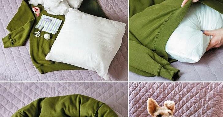 8 cucce fai da te come fare una cuccia con materiali for Cuscini per cani taglia grande