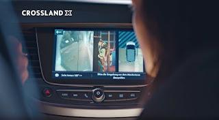 Spot Opel Crossland X camera 180° (genitori spioni)