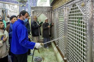 Ulama Syiah Tetap Membuka Tempat-Tempat Suci, Meski Virus Menyebar