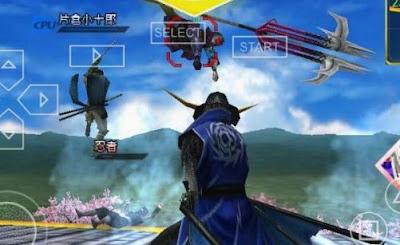 Basara 2 Heroes PPSSPP