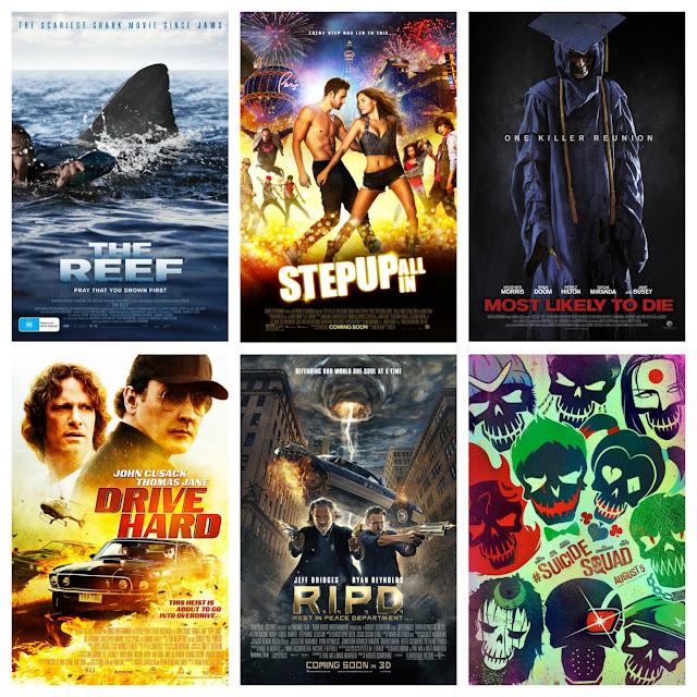 September 2016 Films