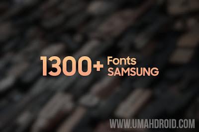 Link Download Samsung Font Terbaru