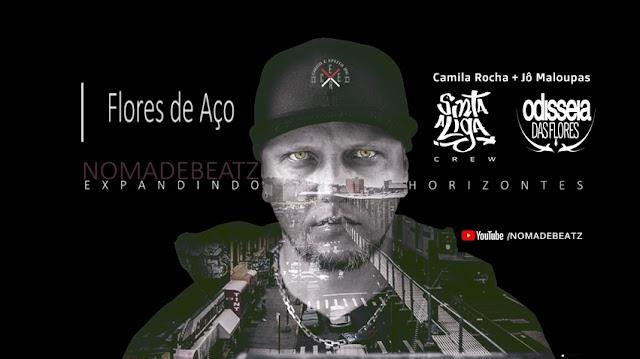 Nomadebeatz reúne Camila Rocha e Jô Maloupas na música Flores de Aço.