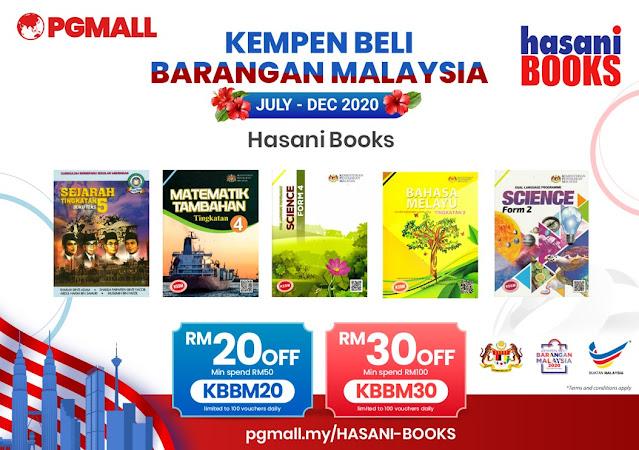 PG Mall Malaysia Online Shopping 11.11 Penang Blogger Influencer Malaysia #barangbaikbarangkita kempen beli barangan malaysia hasani books