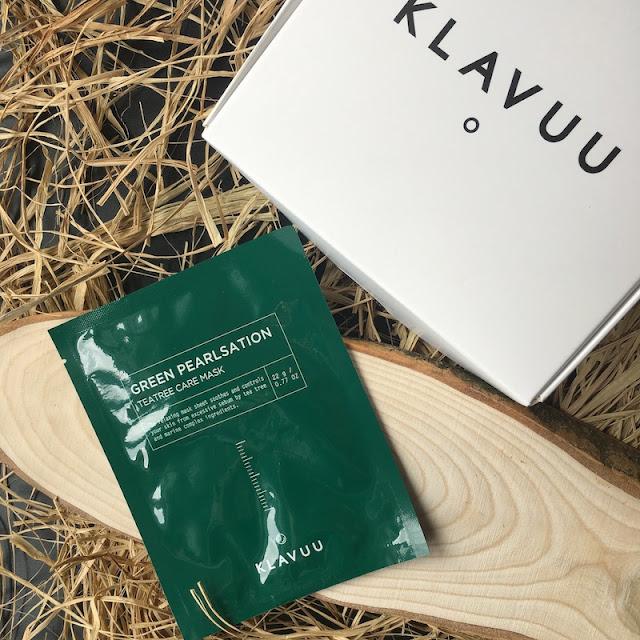Klavuu Green Pearlsation Çay Ağacı Özlü Maske